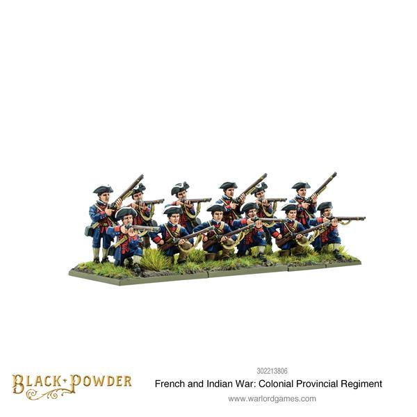 Black Powder French Indian War Colonial Provincial Regiment